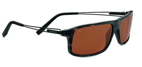 Rivoli Satin Brown/Black Tortoise Polarized Drivers picture