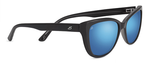 Sophia Shiny Black Polarized 555nm Blue picture