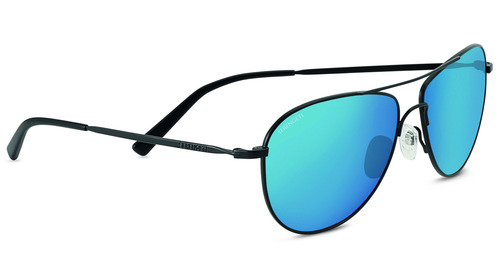 Alghero   Satin Black  Polarized 555nm Blue picture