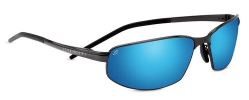 Granada Satin Black Polarized 555nm Blue picture