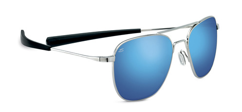 Sortie Shiny Silver Polarized 555nm Blue picture