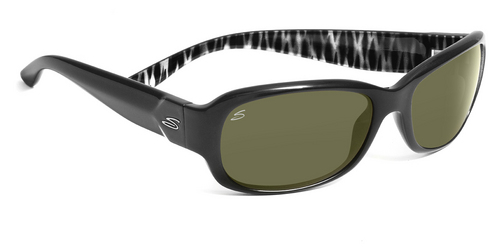 Chloe   Shiny Black Zebra Polarized 555nm picture