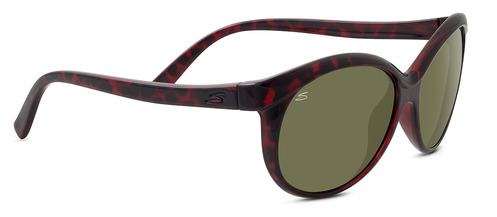 Caterina Shiny Red Tortoise Polarized 555nm picture