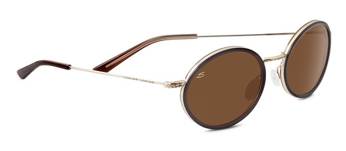 Sirolo Shiny Cognac Polarized Drivers picture
