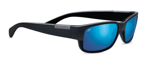 Merano Satin /Shiny Black Polarized 555nm Blue picture