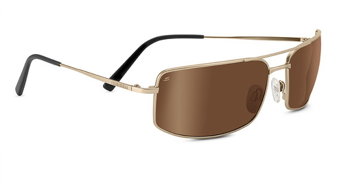 Treviso   Satin Soft Gold  Polarized Drivers Gold picture