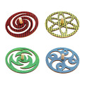 Cosmic Spinners - Set of 4
