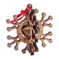 Snowflake Puzzle Ornament