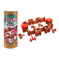 Roy Toy Fort Canister (140+ pieces)