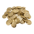 Bag of 75 Medium Gold Doubloons