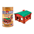 Roy Toy Log Cabin Mini Canister (73 pieces)