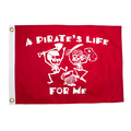 """""""A Pirate's Life For Me"""" Pirate Flag"""