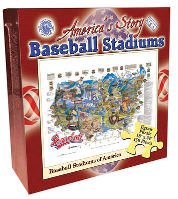America's Story Jigsaw Puzzle - Baseball Stadiums of America picture
