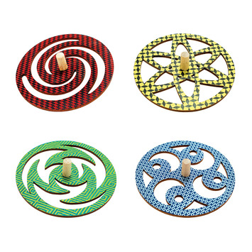 Cosmic Spinners - Set of 4 picture