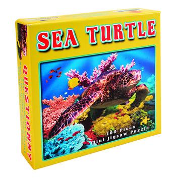 Sea Turtle Mini Jigsaw Puzzle picture