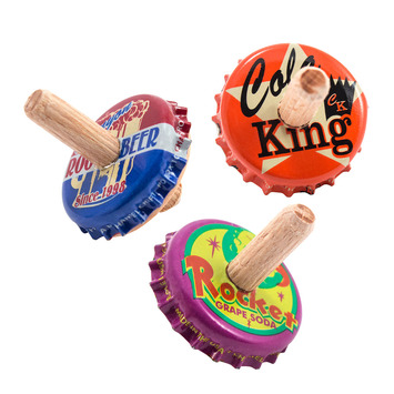 Old Fashioned Bottle Tops - Pack of 3 picture
