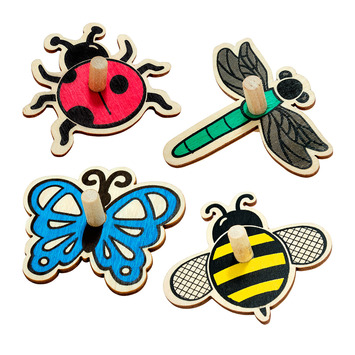Bug Spinners - Set of 4 picture