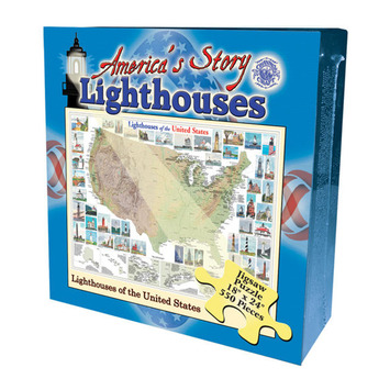 America's Story Jigsaw Puzzle - Lighthouses of the U.S.A. picture