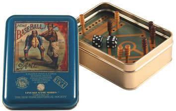 Home Baseball Vintage Game Tin picture