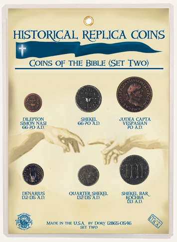 Replica Coin Set - Coins of the Bible: New Testament picture
