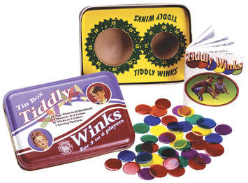 Tiddly Winks in a Classic Toy Tin picture