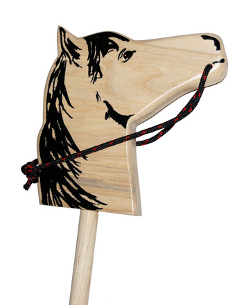 Classic Wooden Hobby Horse picture