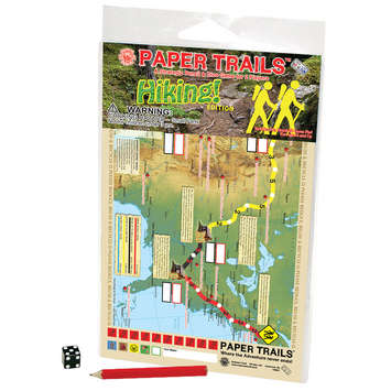 Hiking! Paper Trails Game picture