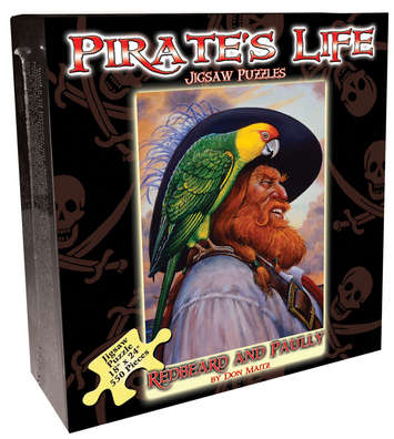 Pirate's Life Jigsaw Puzzle - Redbeard & Paully picture