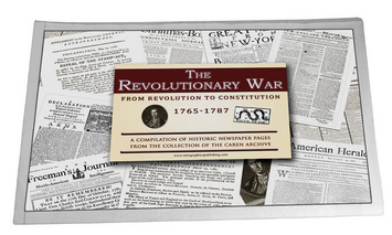 Revolutionary War Replica Newspaper Compilation picture