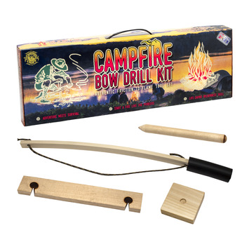Campfire Bow Drill Fire Kit picture