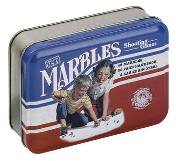 Marbles in a Classic Toy Tin picture