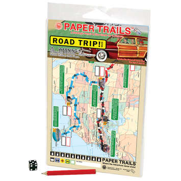 Road Trip! Paper Trails Game picture