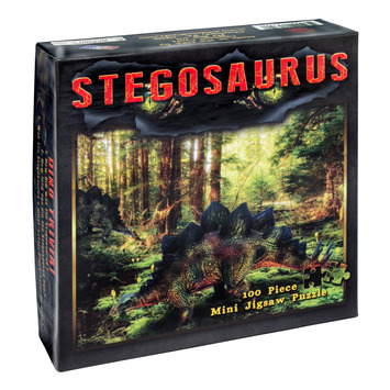 Stegosaurus Mini Jigsaw Puzzle picture