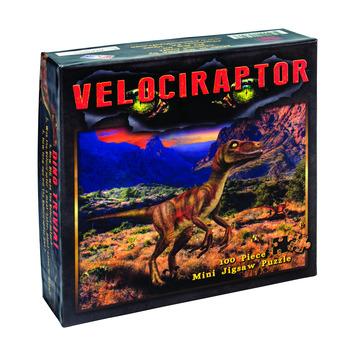 Velociraptor Mini Jigsaw Puzzle picture