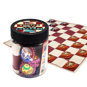 Bottle Cap Checkers picture