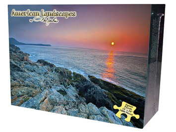 American Landscapes Jigsaw Puzzle - Acadia Shoreline picture