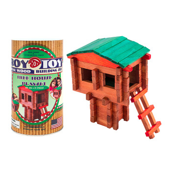 Roy Toy Tree House Mini Canister (71 pieces) picture
