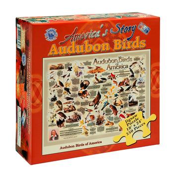 America's Story Jigsaw Puzzle - Audubon Birds of America picture