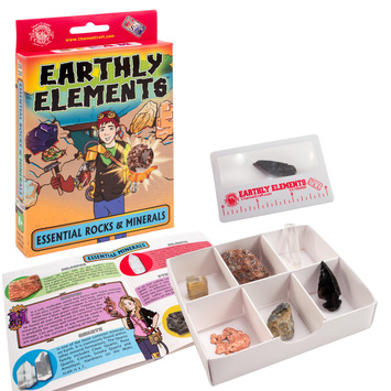 Earthly Elements - Useful Rocks & Minerals Kit picture