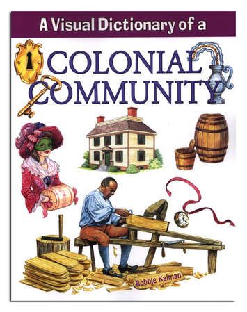 Colonial Community Dictionary Softcover Book picture
