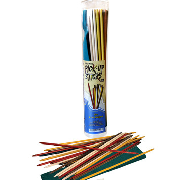 Pick-Up Sticks with Color Canvas Pouch picture