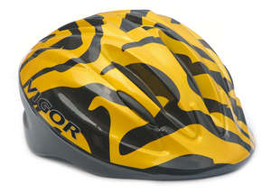 AVENGER TIGER HELMET L/XL YELLOW  52-58cm picture