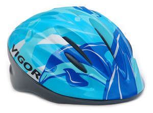 AVENGER DOLPHIN HELMET S/M BLUE 50-54cm picture