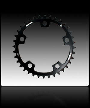 EXPERT 3MM 5 BOLT CHAINRING BCD 110MM 42T BLACK picture