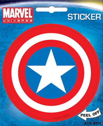 Captain America Shield Sticker picture