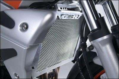 Kühlergrillabdeckung, Aluminium Bild