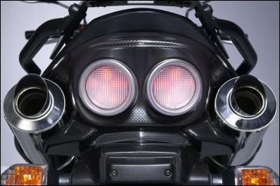 Rücklichtabdeckung, Carbon Optik Bild
