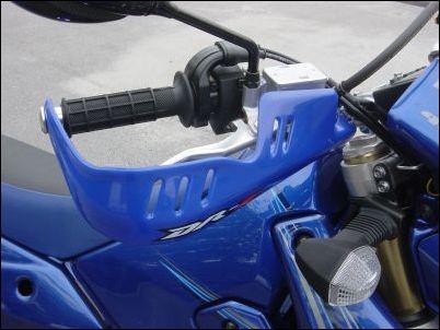 Handprotektoren, Blau Bild