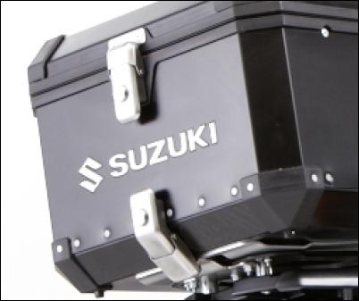 """Suzuki Logo - Koffersatz """"Alu Box"""" Bild"""