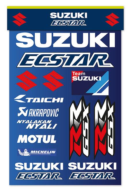 MotoGP Team Aufkleber Bild